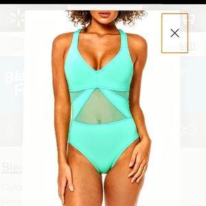 Bleu by Beattie. One piece bathing suit